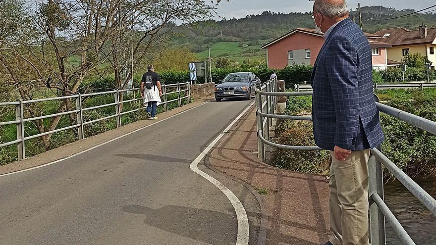 Grado solicita al Estado la mejora del puente de San Pelayo y al Principado otro nuevo en La Mata