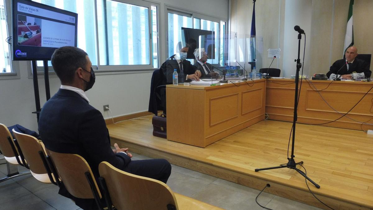 Rubén Castro, durante el juicio.