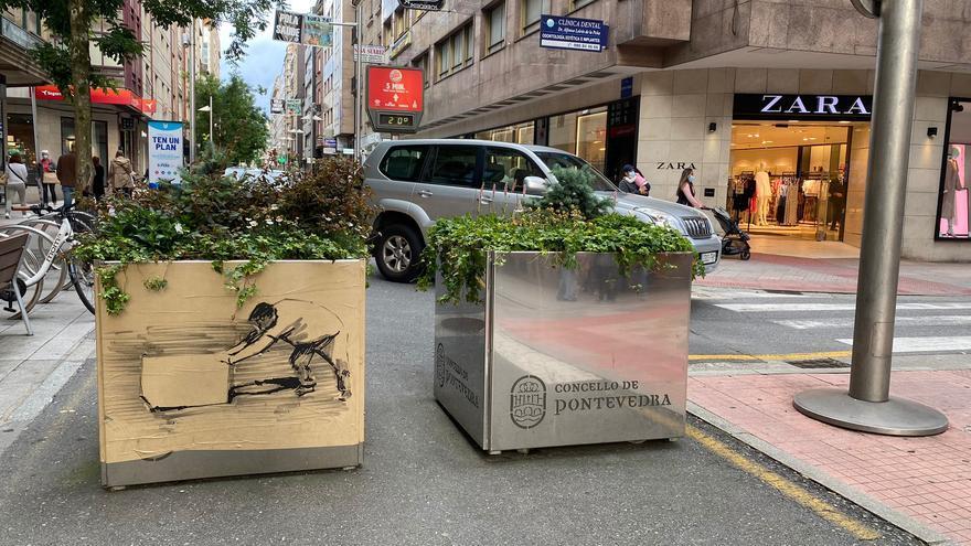 ¿Un 'Banksy' pontevedrés?