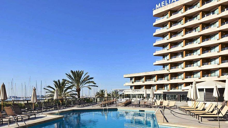 El Meliá Palma Marina permite hacer teletrabajo desde el hotel