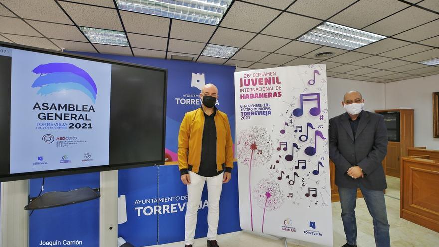 Torrevieja retoma el 6 de noviembre el Certamen Juvenil de Habaneras con 200 coralistas