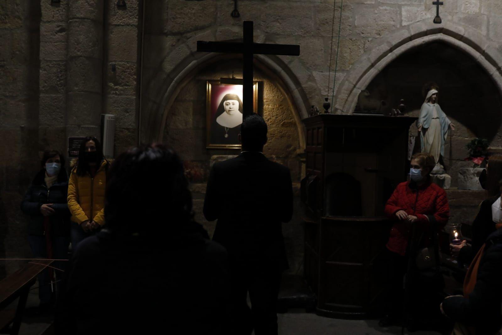 GALERÍA | El Vía Crucis de Jesús Nazareno, en imágenes