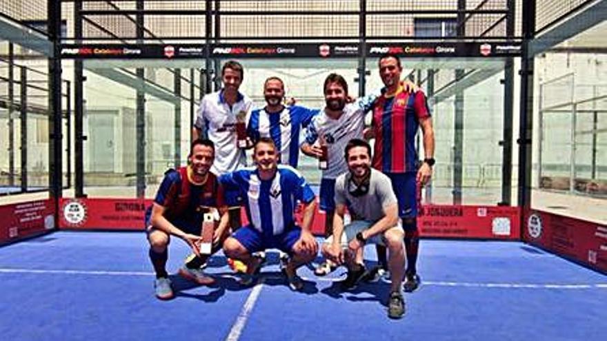 El Barça s'emporta el primer torneig de Padbol Legends a Girona