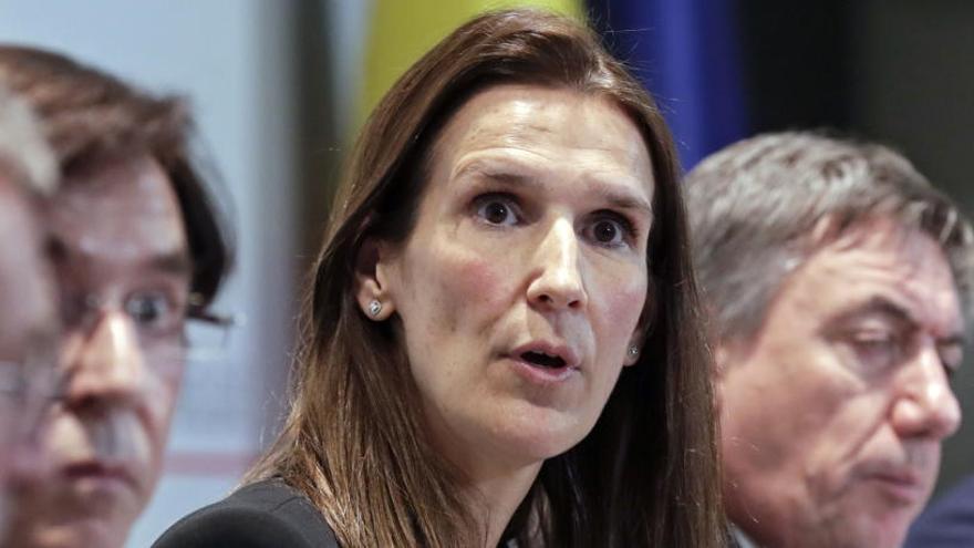 Wilmès, ex primera ministra belga, en la UCI con Covid-19