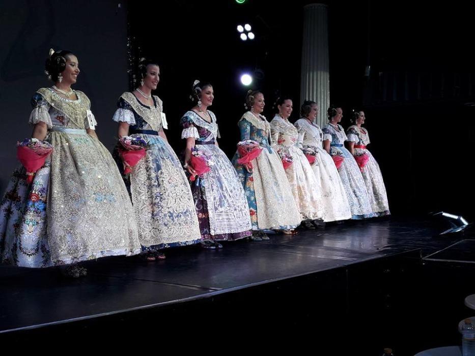 Desfile de las candidatas de Russafa B