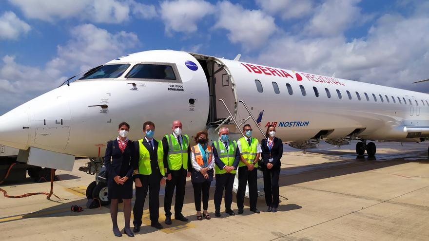El aeropuerto de Castellón inaugura la ruta de Sevilla con dos vuelos semanales hasta el 3 de septiembre