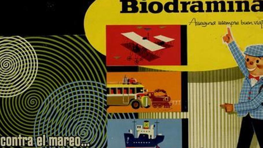 Biodramina, seixanta-cinc anys evitant els marejos