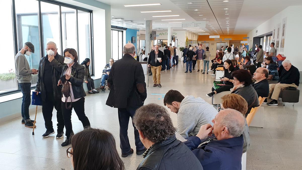 Consultas del hospital Álvaro Cunqueiro en Vigo.