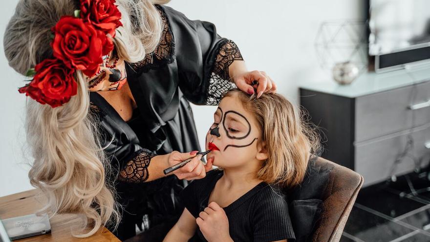 Halloween: Diez ideas terroríficas de maquillaje para niños y adultos