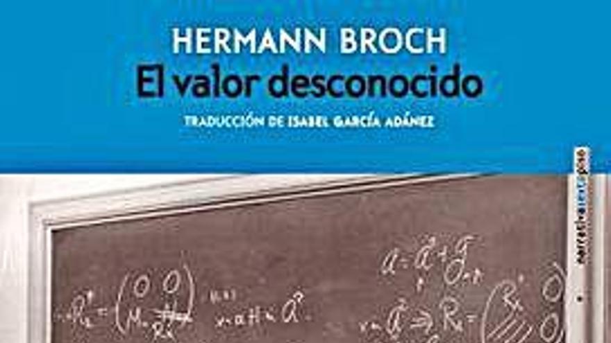 Tres vidas en un inédito de Hermann Broch