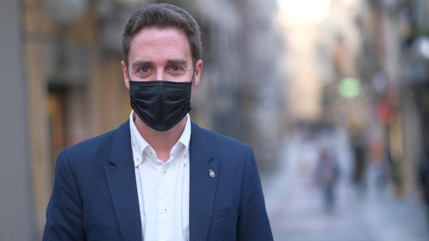 Jordi Masquef critica la seguretat de Figueres a les xarxes socials