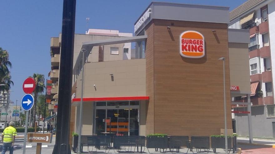 Burger King abre un nuevo local en Torre del Mar