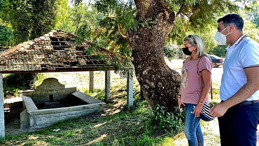 Caldas restaurará el lavadero tradicional del Umia, que cuenta con protección patrimonial