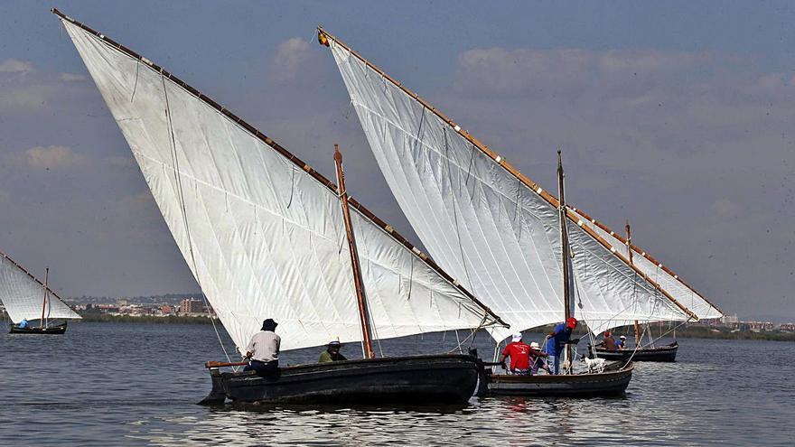El port de Silla acull hui la matinal  de vela llatina de l'Albufera
