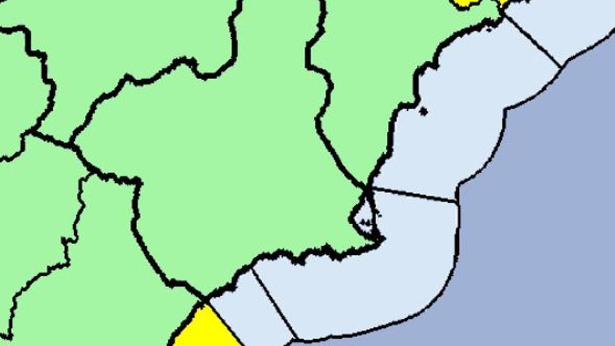 La Aemet retira las alertas por lluvias en la Región, que ha registrado 186 incidencias