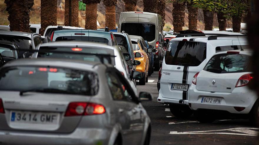 San Andrés registra en horas puntas  el mismo tráfico que el Padre Anchieta