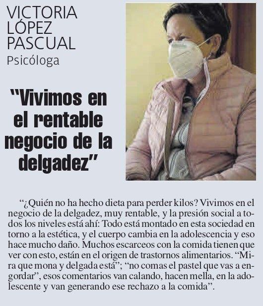 Victoria López, psicóloga