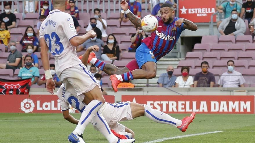 Barça - Getafe, en imatges