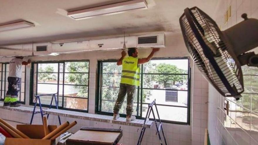 La Plataforma SOS Climatización de Córdoba se moviliza para reclamar el uso de aire acondicionado en centros escolares
