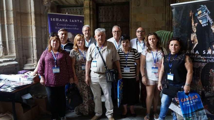 La Coordinadora de la Semana Santa reclama más ayudas a Diputación y Xunta, así como un local