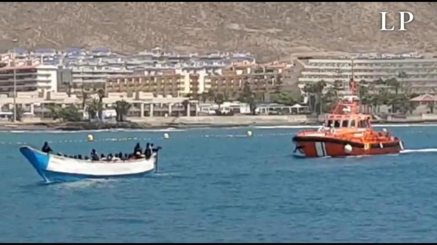 Cinco pateras llegan este martes a la costa de Gran Canaria