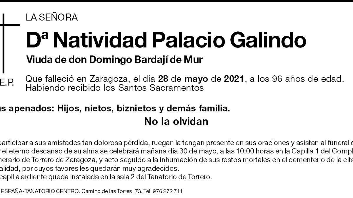Natividad Palacio Galindo