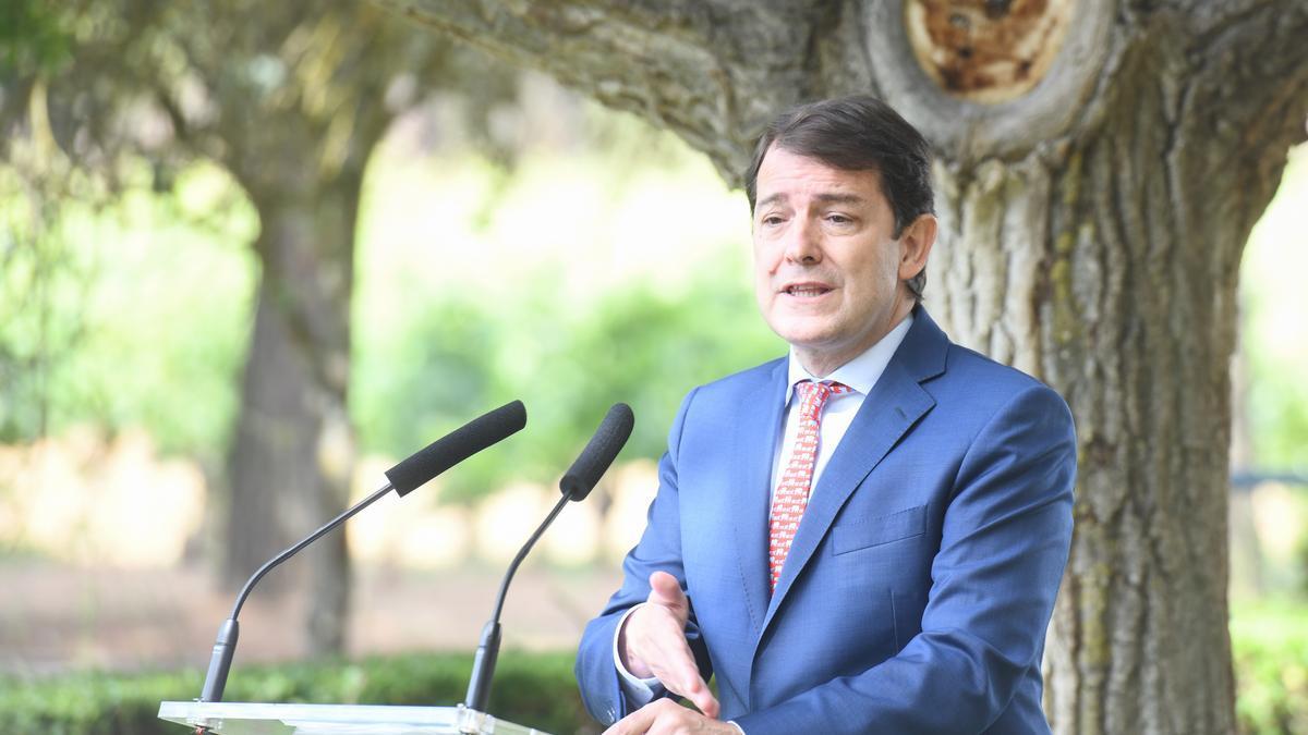 Alfonso Fernández Mañueco, presidente de Castilla y León.