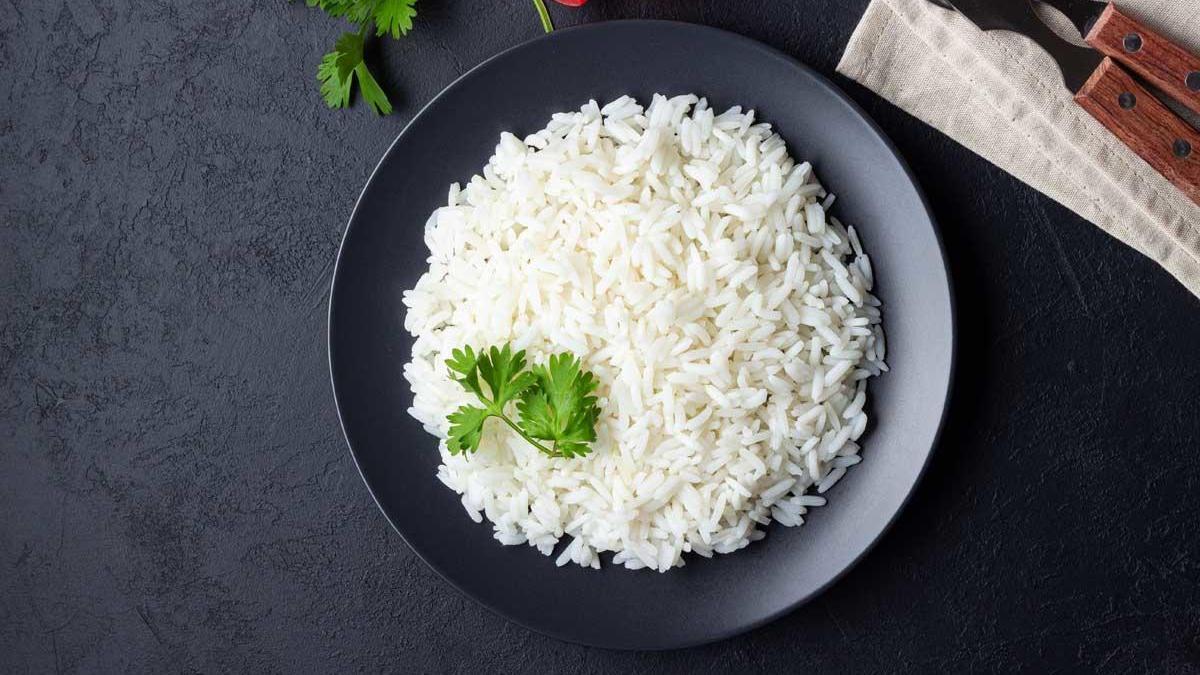 Cómo hacer arroz blanco.