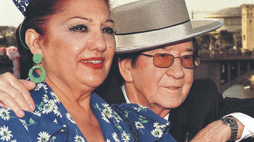 Adiós a Dolores Abril, estrella de la copla y pareja de Juanito Valderrama