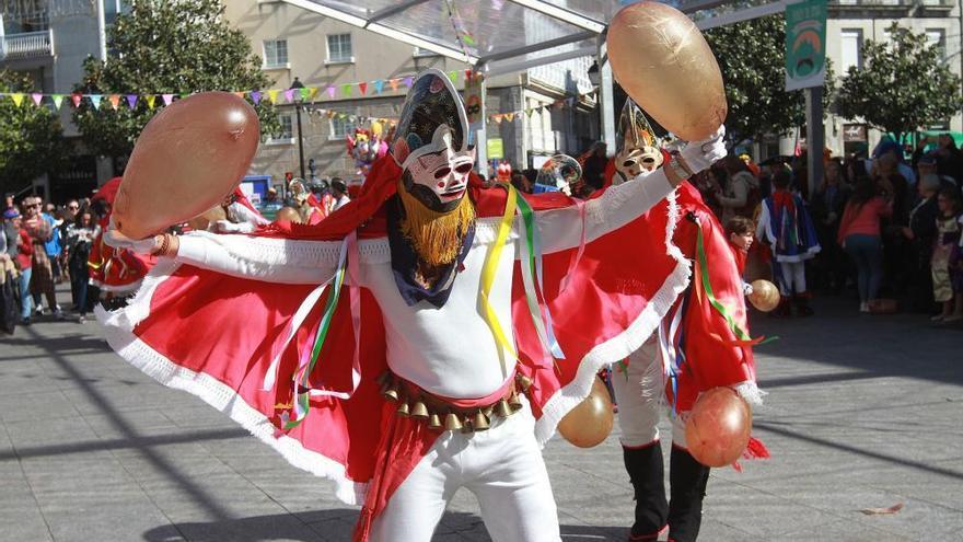 Carnaval 2019 en Galicia | Las pantallas animan las calles de Xinzo de Limia
