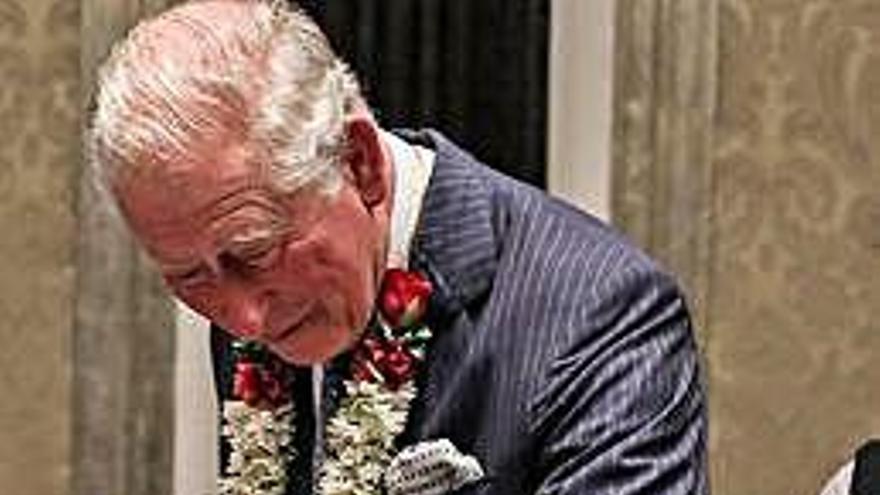 El príncipe Carlos de Inglaterra celebra su 71 cumpleaños en la India