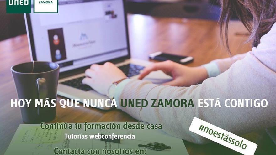 Casi 200 personas de cinco países se matricularon en el ciclo 'UNED Zamora está contigo'