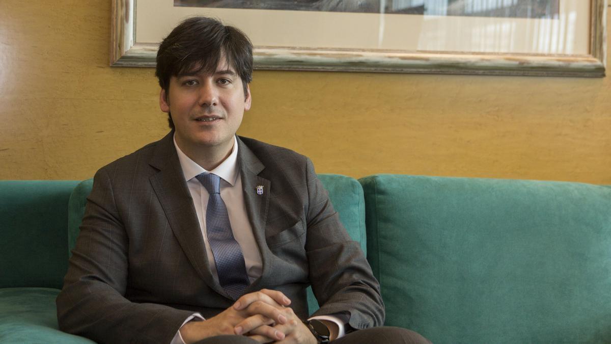 El consejero de Ciencia Borja Sánchez