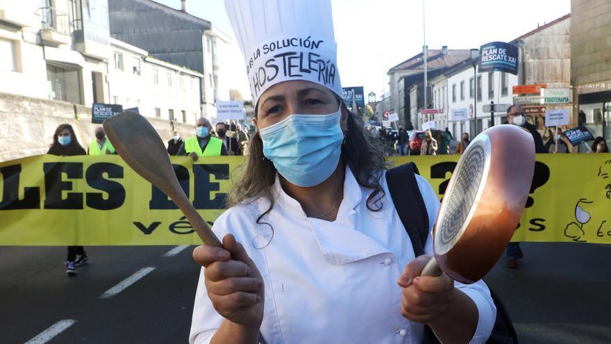 Restricciones en Galicia: la hostelería vuelve a pedir un plan e rescate