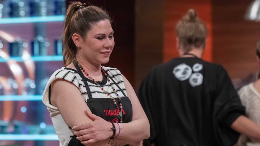 """Tamara, rota ante su expulsión en 'Masterchef Celebrity': """"Tengo cuatro niños que mantener"""""""