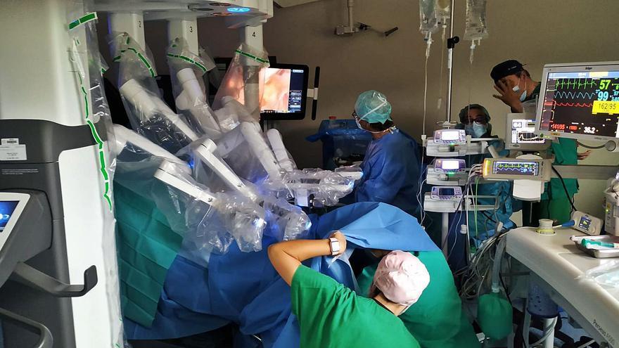 """Cirugía robótica para una """"precisión máxima"""""""