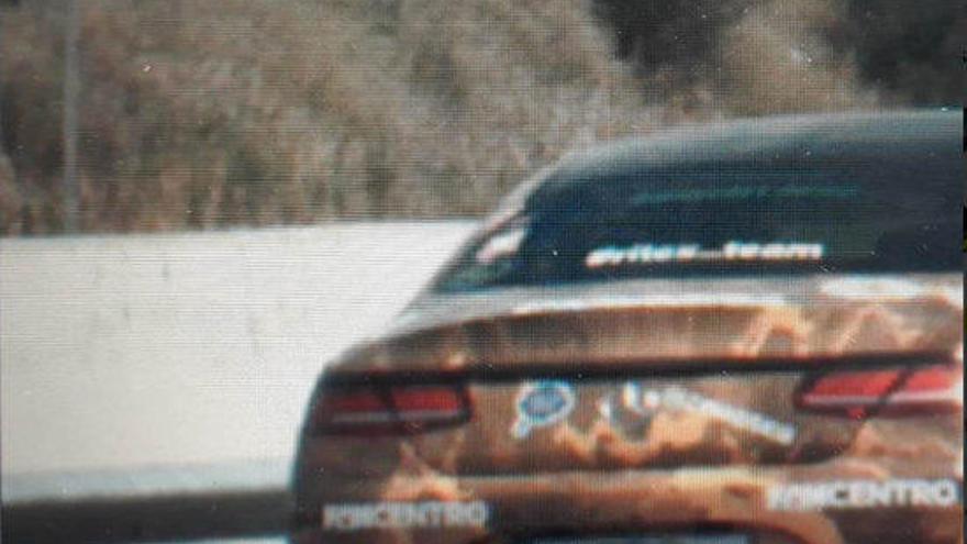 Fins a tretze conductors denunciats per la concentració de cotxes esportius a AP-7