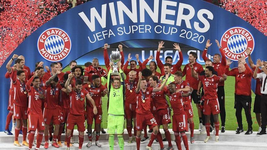 El Bayern suda la gloria ante el Sevilla