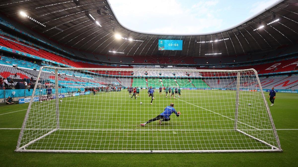 El estadio Allianz-Arena de Múnich.