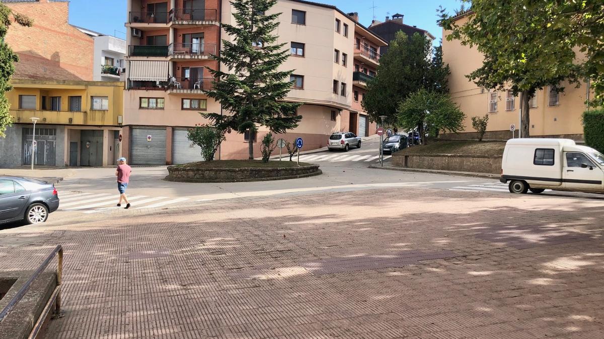 Placeta del barri de la Torregassa