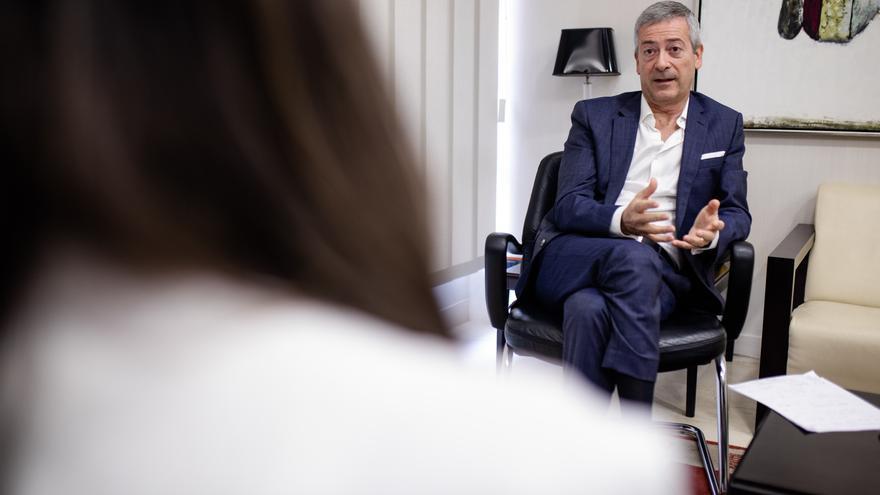 """Manrique de Lara: """"Hemos detectado una preocupante deslealtad del Gobierno de España hacia Canarias"""""""
