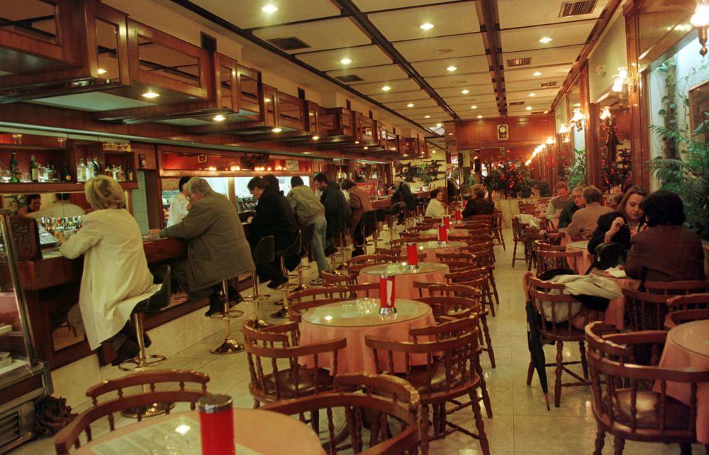 El Café Goya, de Vigo, en imágenes