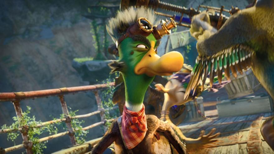 Quackers. La leyenda de los patos