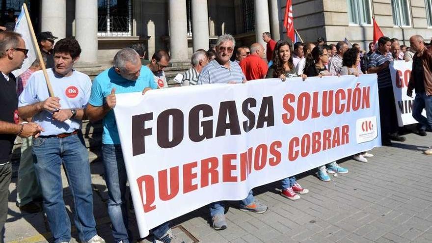 Los gallegos que cobraron del Fondo de Garantía Salarial caen un 47% hasta junio