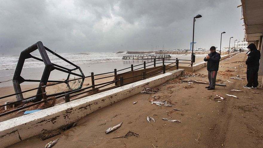 El Gobierno subvenciona el 44 % de las reparaciones del temporal Gloria