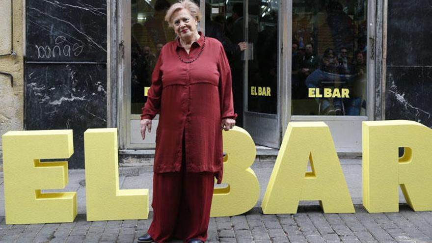 """Terele Pávez: """"El rodaje de 'El Bar' ha sido insoportable """""""