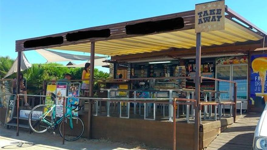 Verkaufsbude am Aussichtspunkt Formentor ist wieder geöffnet