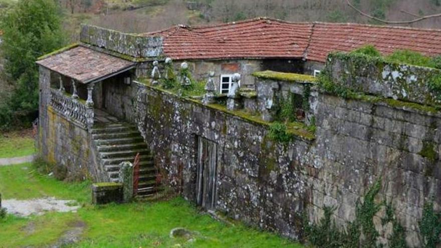 Casa Rectoral de Borela en Cerdedo-Cotobade