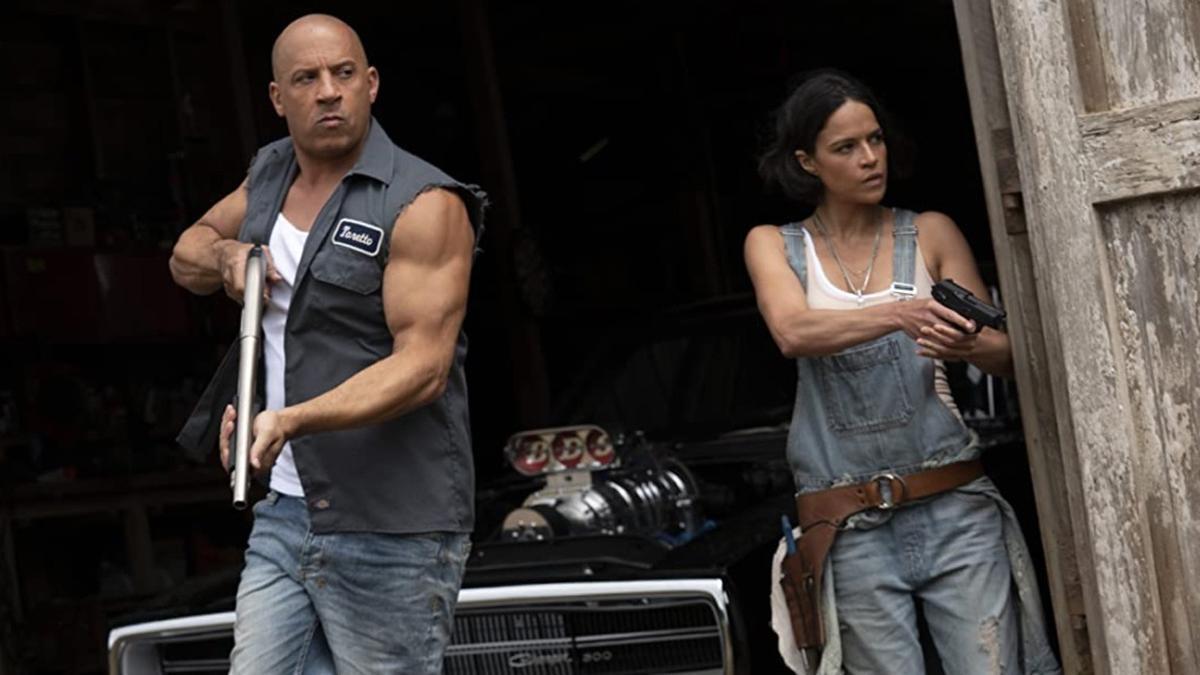 Una imagen de 'Fast and furious 9'.
