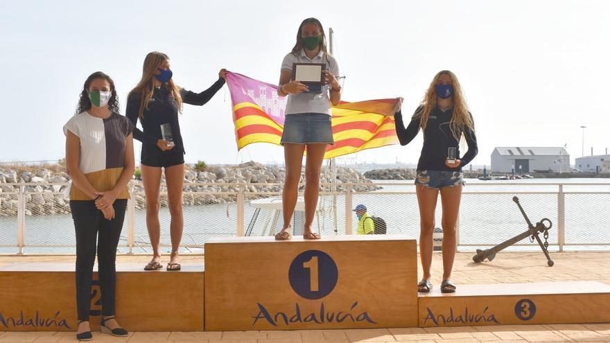 CN s'Arenal copa los podios en el Nacional de Open Foil